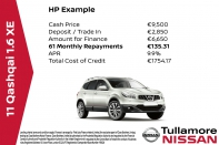 XE 1.6 (FINANCE FROM €32 PER WEEK)